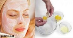 It Tightens the Skin Better Than Botox: This 3 Ingredients Face Mask Will Make You Look 10 Years Younger - Beauty Care Magazine Beauty Care, Beauty Hacks, Hair Beauty, Natural Face, Natural Skin Care, Egg White Mask, Cosmetic Treatments, Homemade Face Masks, Skin Tightening