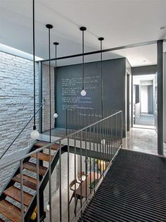 imagem (2) Interior Stairs, Interior Architecture, Interior And Exterior, Loft Design, House Design, Design Design, Loft Interiors, Loft Spaces, Loft Apartments