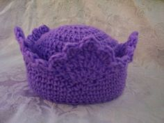 Crochet crown... Awesome.