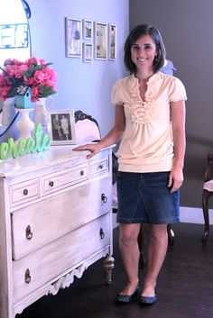 Bella Jean Boutique: Tutorial...Turn Your Jeans into a Skirt