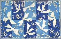 Make a beautiful collage craft for the holidays based on the art of Matisse.