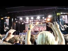Bruce Springsteen Live Gothenburg 27/7 2012 - Born to run