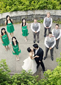 Wedding Party Picture Ideas | The SnapKnot Blog | Joanna Moss Photography @Joanna Moss