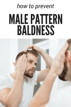 While you cannot stop hair loss from occurring, you can prevent male pattern baldness using these measures to prolong your healthy hair Hair Loss Causes, Prevent Hair Loss, How To Stop Balding, How To Prevent Balding, Male Pattern Baldness Hairstyles, How To Stop Hairfall, Bald Men, Hair Loss Women, Stop Hair Loss