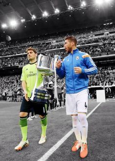 Iker y Ramos #champions