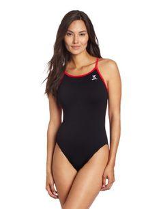 TYR Women's Durafast Elite Solid Crossfit Swimsuit