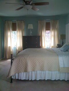 spa like bedroom colors   LoveYourRoom: One Day Spa Bedroom Makeover