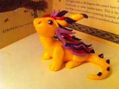 Yellow Dragon by Dragonsandthings on Etsy, £8.00