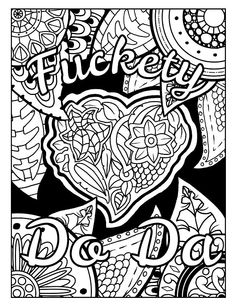 3 Free Swear Word Coloring Pages. Check out these swear word coloring pages and books, just click visit. Swear Stress Away has highly rated coloring books (all available on Amazon) and gives away freebies to those who sign up. Just click visit or search swearstressaway.com to discover some awesome swear word coloring books. #funny #coloring #swear