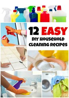 12 Easy DIY Household Cleaning Recipes | eBay