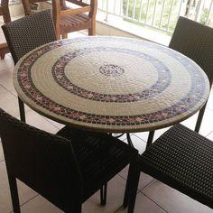 Tampo de Mesa em Mosaico Boa Sorte | Myo Atelier | Ideias Artigos Decoração