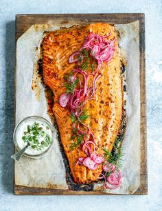 roast side of salmon with pomegranate glaze – Stuck in the kitchen
