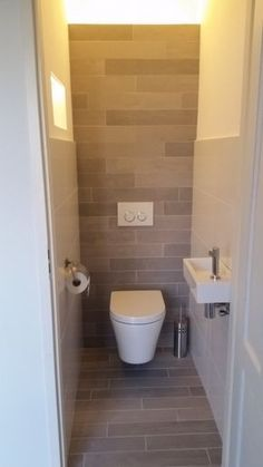 Mooi strak toilet!