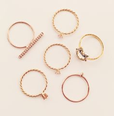 LC Lauren Conrad for Kohl's Stackable Rings, $7.80