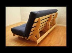 York Pine Futon Funkyfuton The York Is Our Only Pine Bi Fold Frame At Present And For This Reason Sells Pretty We In 2020 Diy Sofa Bed Futon Frame Futon