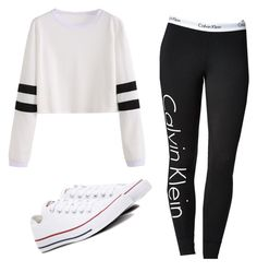 """Untitled #188"" by brodriguez8104 on Polyvore featuring Calvin Klein and Converse"