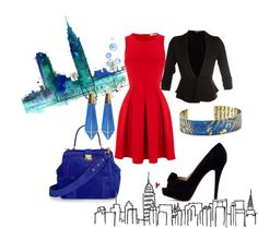 """""""City Work"""" by cortneymonster on Polyvore"""