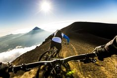 """""""Ten days of riding in Guatemala, going up and down the 3,976m of Acatenango volcano with a triple world champion - this was the trip of a lifetime for Rodolphe, the lucky winner of the Julbo Ride Session. Doing runs in these spectacular landscapes with all their technical and varied terrain...this was a fantastic trip that will give you itchy feet!"""""""