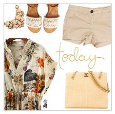 """""""Today"""" by simona-altobelli ❤ liked on Polyvore featuring Current/Elliott, Aéropostale and Chanel"""