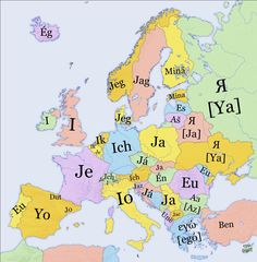 I in different languages- I like the Turkish way- Ben