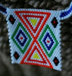 Zulu Love Letter White Set by thewandererswagon on Etsy Loom Beading, Beading Patterns, Crafts To Do, Arts And Crafts, Beaded Crafts, Letter Patterns, Zulu, Love Letters, Cross Stitch Patterns