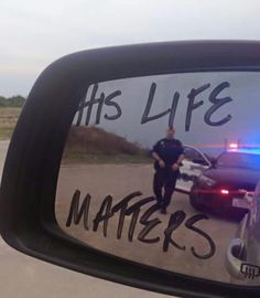 His life matters too