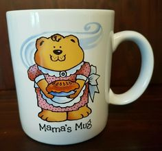 Vintage The Bear Family MAMA's Coffee Mug Cup Russ Berrie | eBay $29.95 The Bear Family, I Love Coffee, Mug Cup, My Ebay, Coffee Mugs, Berries, Tableware, Fun, Gifts
