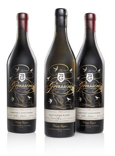 Beautiful wine packaging design by Joe Duffy.