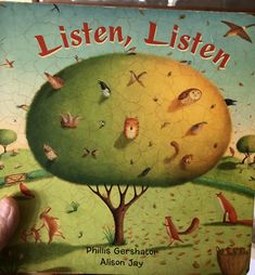 "A page from ""Listen Listen"" Barefoot Books, Haitian Creole, New Grandparents, Preschool Programs, Picture Story, Picture Books, Date Today, New Grandma, Getting Old"