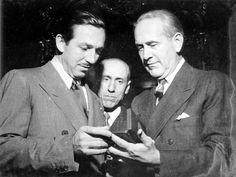 Walt Disney encontra-se com Oswaldo Aranha, 1941. S.l. (CPDOC/ OA foto 248)