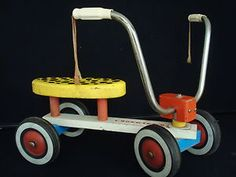 Original Plaskool Tyke Bike. I had this!