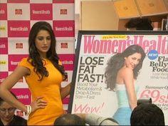 Nargiz Fakhri launches the new edition of WOMEN's HEALTH MAGAZINE.