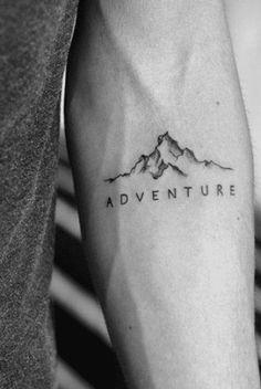 40 fabelhafte Berg Tattoo Designs - New Ideas Small Tattoos Men, Small Forearm Tattoos, Small Meaningful Tattoos, Forearm Tattoo Men, Tattoo Guys, Tatoos Men, Tatto For Men, Forearm Sleeve, Best Tattoos For Men