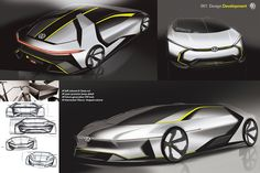 Personal study for near future VW GOLF with advanced packaging & engineering