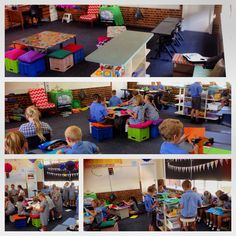 Contemporary Learning Spaces in action in my classroom