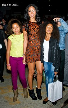 ALL GROWN UP: Aoki & Ming Lee Simmons Tap Into Their MODEL GENES (With Kimora & Russell) For NY Fashion Week! | The Young, Black, and Fabulous