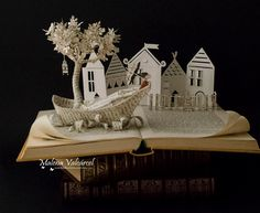 Incredibly Intricate Book Sculptures by Malena Valcárcel (11 pictures)