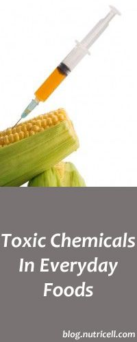 Toxic Chemicals In Everyday Foods