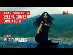 """Selena fue nominada a los """"YouTube Music Awards"""" con """"Come and Get it"""" como vídeo del año  para votar por ella solo tienes que compartir este vídeo (compartir este video pero directo de youtube, abre el enlace y comparte) los ganadores serán anunciados el 3 de noviembre en youtube! He votado por """"Come & Get It"""" de Selena Gomez como Vídeo del año en los ..."""