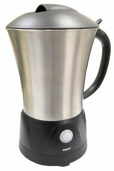 Sunpentown SPT One-Touch Milk Frother by Sunpentown. $59.35. Power indicator; Premium brushed stainless steel cordless carafe. 360 degrees swivel base. Froths or steams milk in less than 90 seconds; Easy to clean non-stick surface. Soft touch on/off button with automatic shut-off. This elegant and space-saving One-Touch Milk Frother doubles as a milk warmer. Makes decadent steamed and frothed milk for specialty drinks with just the push of a button. User-friendly and efficient,...