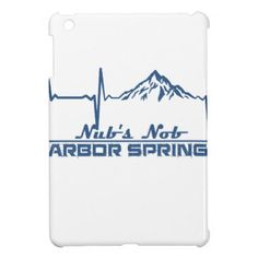 Nub's Nob  -  Harbor Springs - Michigan Cover For The iPad Mini - spring gifts beautiful diy spring time new year
