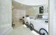 Las mejores heladerías en diseño interior