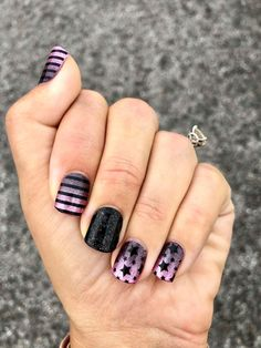 Nails Only, Get Nails, Love Nails, How To Do Nails, Pretty Nails, Hair And Nails, Funky Nails, Dream Nails, Pink Black Nails