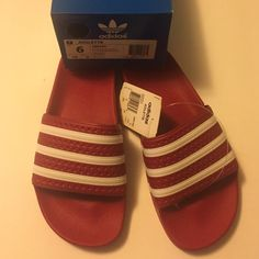 adidas originals adilette womens orange