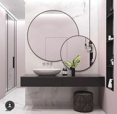 Beautiful Bathroom Mirror Ideas For a Small Bathroom, gorgeous bathroom mirror ideas are enjoyable, stylish and also creative which is ideal for y. Beautiful Bathroom Mirror Ideas For a Small Bathroom, gorgeous bathroom mirr. Beautiful Bathrooms, Modern Bathroom, Small Bathroom, Bathroom Ideas, Mirror Bathroom, Mirror Vanity, Master Bathroom, Bathroom Toilets, Bathroom Designs