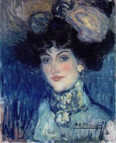 1896 Pablo Picasso (Spanish artist, Portrait of the Artist's Mother. Pablo Picasso, one of the dominant & most influential . Kunst Picasso, Art Picasso, Picasso Blue, Picasso Paintings, Georges Braque, Renoir, Spanish Painters, Spanish Artists, Post Impressionism
