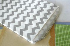 GREY CHEVRON Paper Bags Medium Thin 5 x 75  by PaperStrawsParty, $5.50