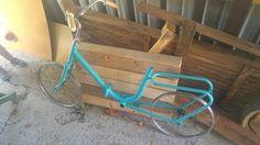 """Bicicletta pieghevole Bianchi restaurata """"Blu Tiffany"""" e pronta per il montaggio a contropedale..."""