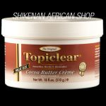 Topiclear Cocoa Butter Jar Creme (510g / 18 fl.oz.) Effective skin lightening products