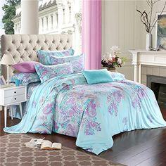 LELVA Chic Bohemian Style Bedding Set Tencel 4-Piece Boho... https://www.amazon.com/dp/B01CG7I1E6/ref=cm_sw_r_pi_dp_x_6y9Pxb2PYEMHC